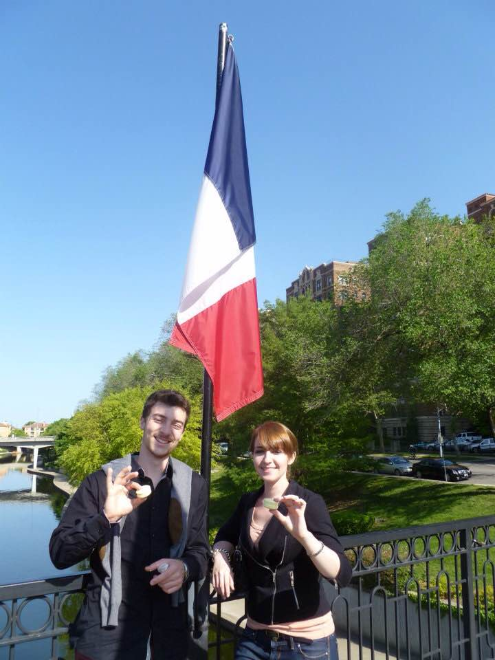 Kelli Connell ('12) French Major
