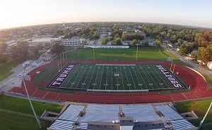 Located on the south edge of campus, Truman's 4,500-seat Stokes Stadium is home to the Bulldog football team and the track and field teams.