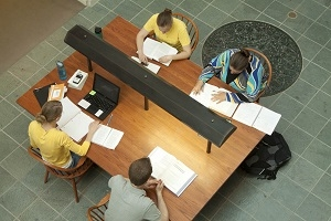 Pickler Memorial Library has plenty of spaces for group collaboration.