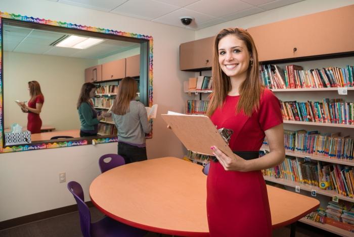 Truman grad student Sara Hahn