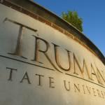 Truman State University sign