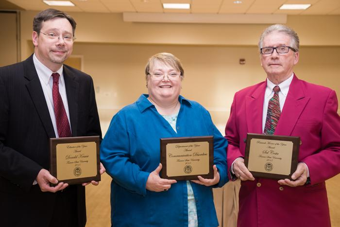 Krause, Costa and Communication Disorders Win Awards