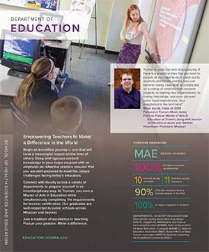 Education Quick Facts Brochure