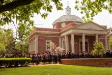 Spring 2015 Commencement - Graduates by Kirk Memorial