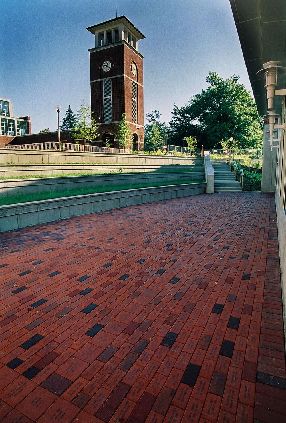 Magruder Hall Brick Donor Plaza