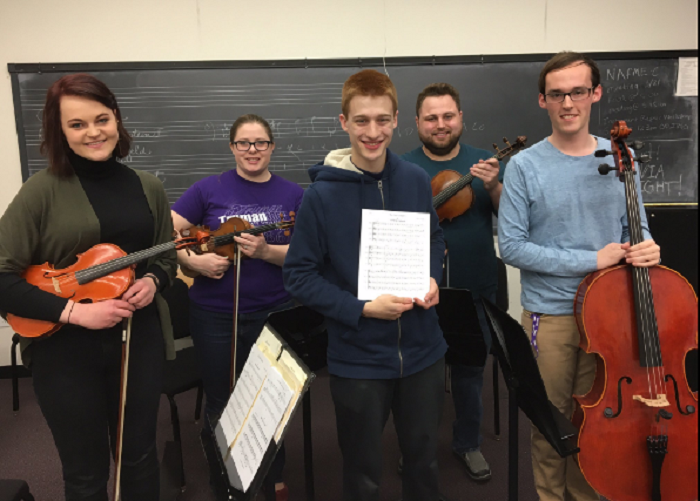 Uncommon Practice preparing for Spring Recital