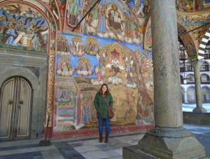 Moore Bethany at the Rila Monastery