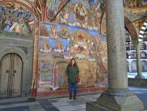 Moore Bethany at the Rila Monastery