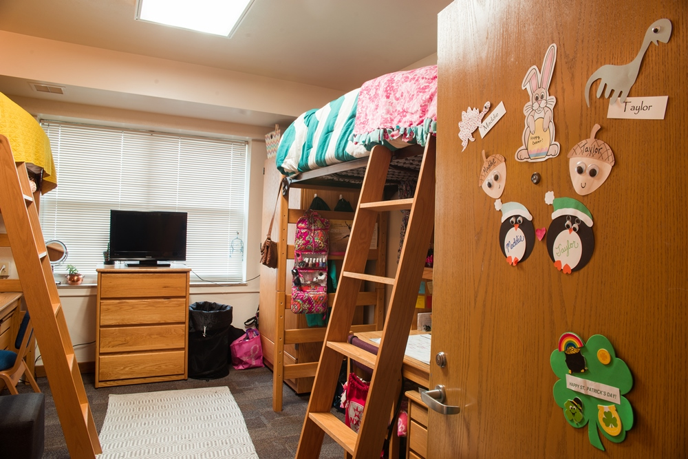Room in Dobson Hall