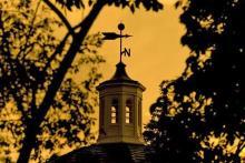 Sunset Over Kirk Memorial_w