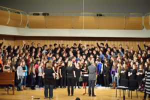 Music Department Collaboration with Kirksville High School