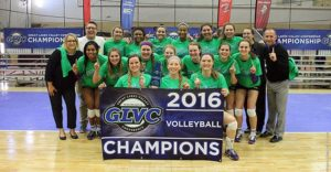 Volleyball Claims Second Conference Crown