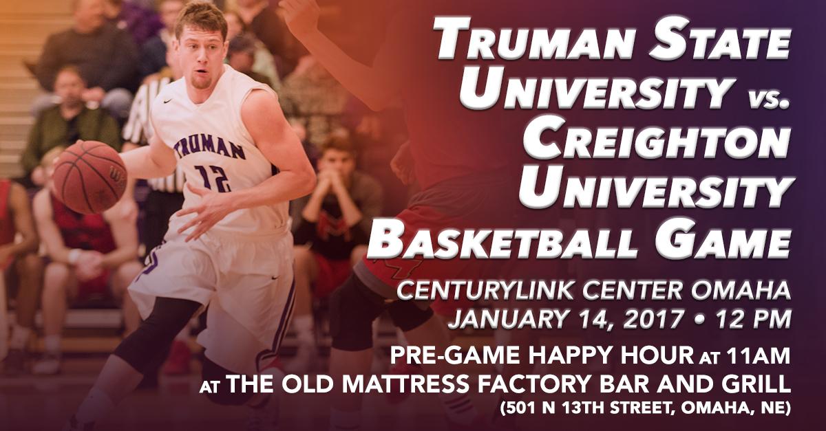 Omaha Alumni Club Truman vs Creighton Basketball Game