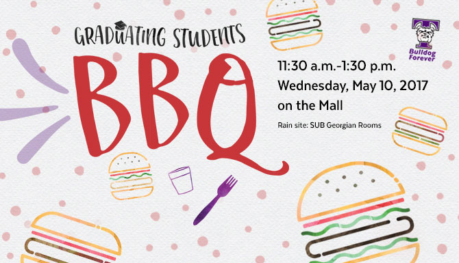 A Truman tradition, the Graduating Students BBQ celebrates the transition from student to alumni status