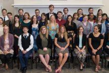 Phi Beta Kappa Initiates 38 Students