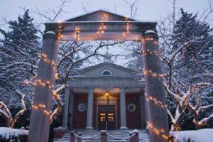 Kirk Memorial Snow Scene