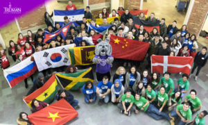 Truman State University attracts international students from around the world