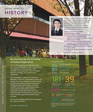 History Quick Facts Brochure