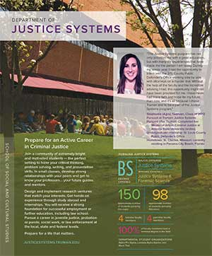 Justice Systems Quick Facts Brochure
