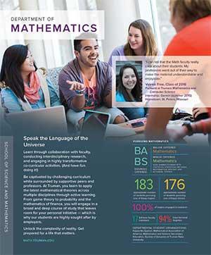 Mathematics Quick Facts Brochure