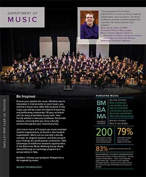 Music Quick Facts Brochure