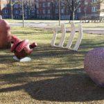 Art class creates sculpture