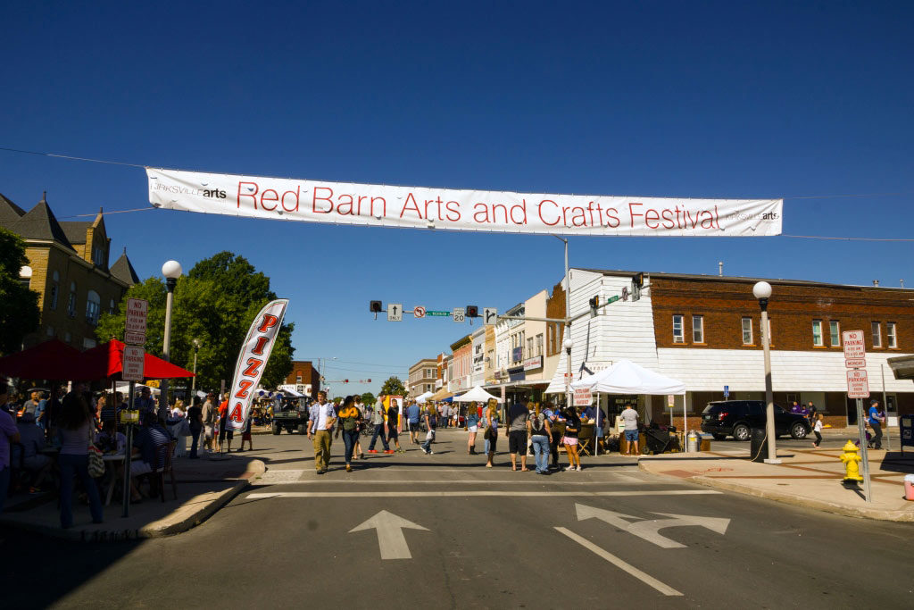 Red Barn Arts and Crafts Festival Downtown Kirksville
