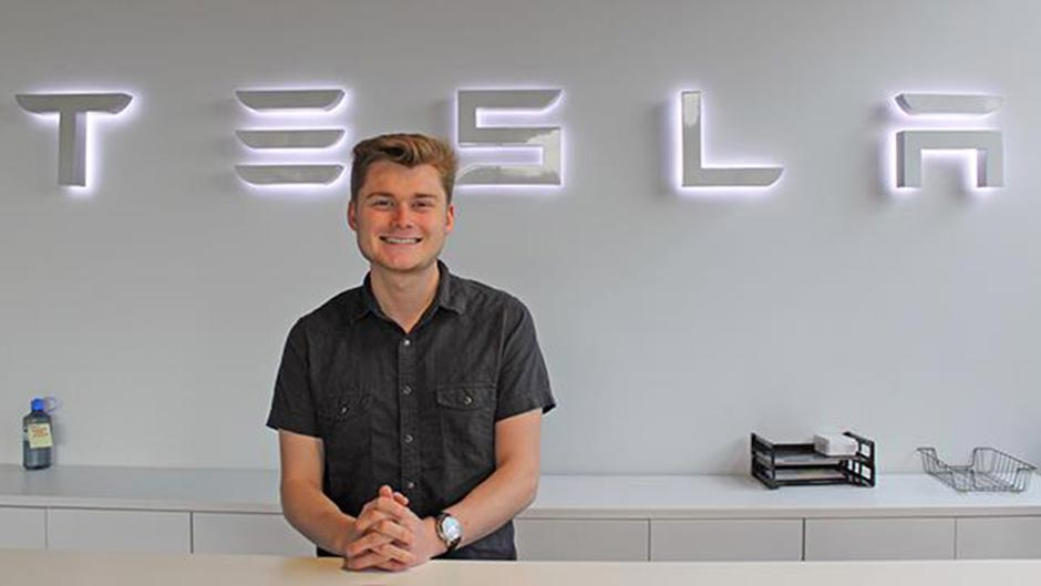 Stephen - Internship with Tesla