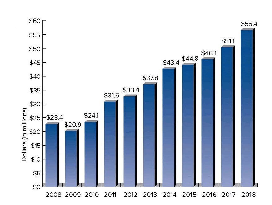 Chart- Total Assets - Truman State University Foundation