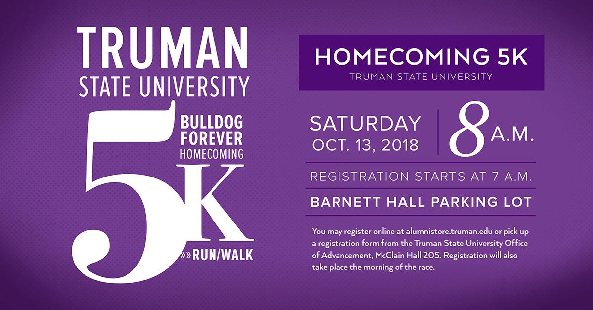 Homecoming 5K Run Walk