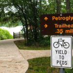 Explore trails and historic rock carvings at Thousand Hills State Park