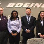 Interns at Boeing