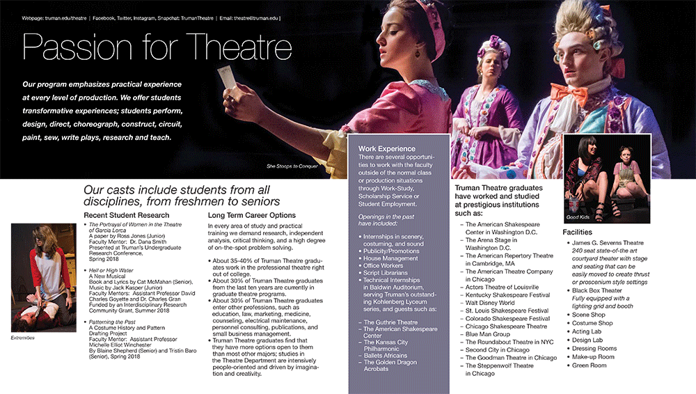Theatre Quick Facts - page 2