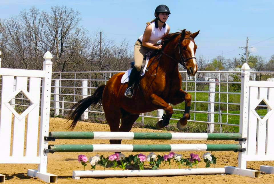 Students groups, like the Equestrian Team, use the University Farm for team practice