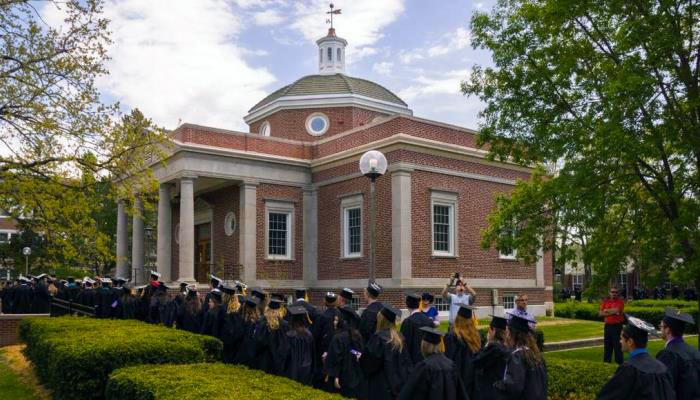 Graduates by Kirk Memorial