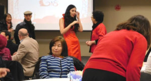 Society for Sino-American Studies held a Chinese New Year Celebration