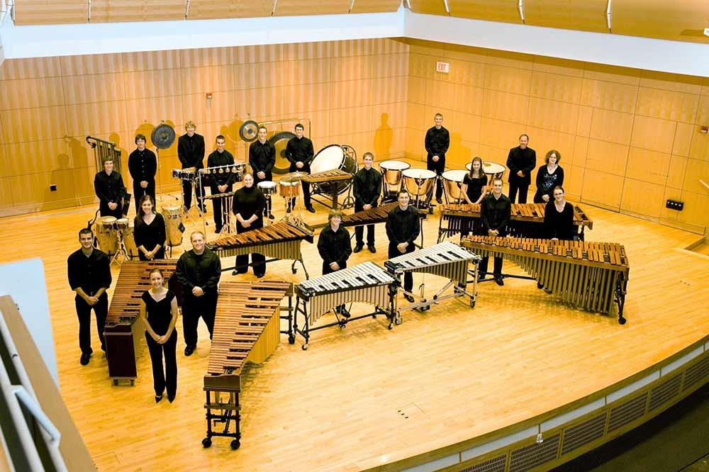 Percussion at Truman