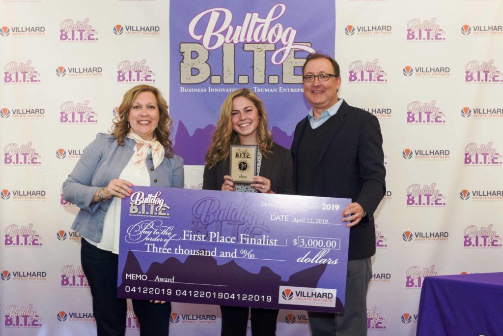 Bulldog BITE first-place finalist wins $3000
