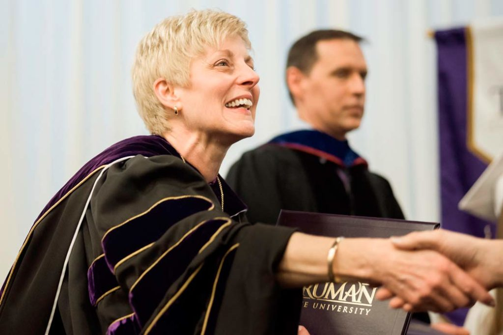 President Sue Thomas - Commencement
