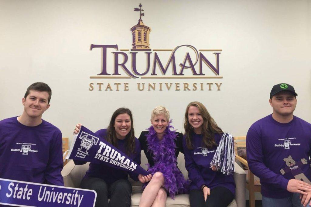 President Sue Thomas - Truman Spirit Day