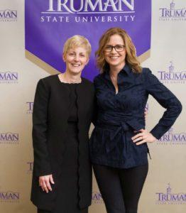 Sue Thomas and Jenna Fischer