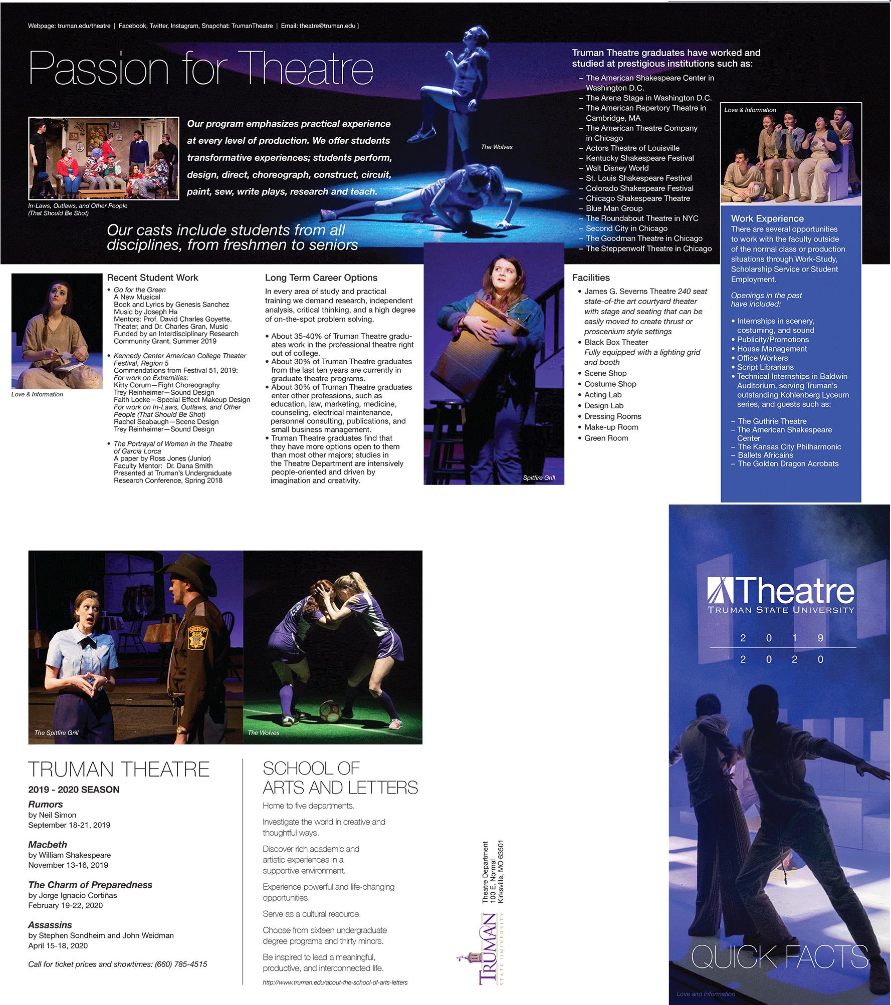 Theatre Quick Facts