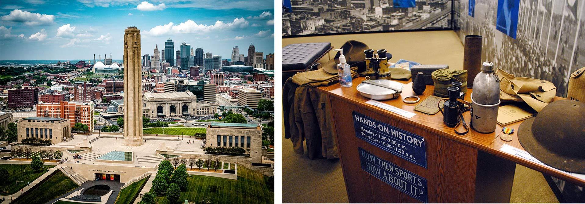 Internship at WWI Museum in Kansas City