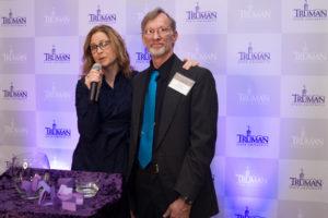 Jenna Fischer and Ron Rybkowski