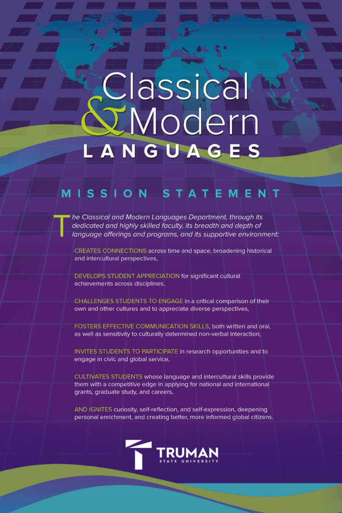 Mission Statement for Classical and Modern Languages Department