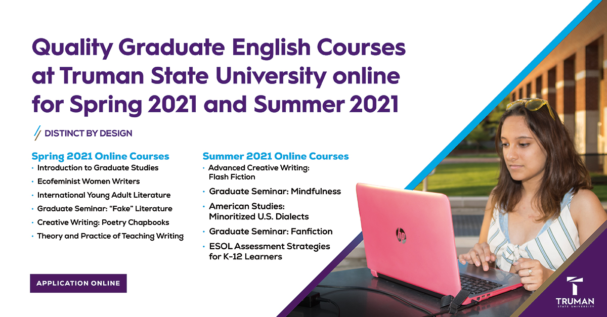 Master's in English Online Courses