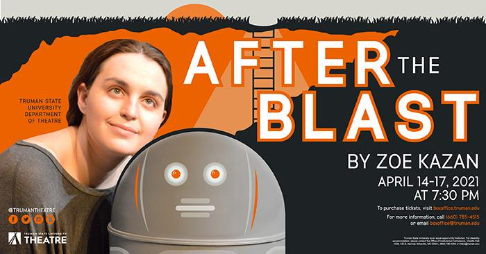 After the Blast by Zoe Kazan, April 14-17 at 7:30
