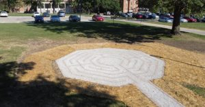 Labyrinth Added to Former Fair Apartments Lot
